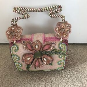 Bejeweled pastel Mary Frances Bag